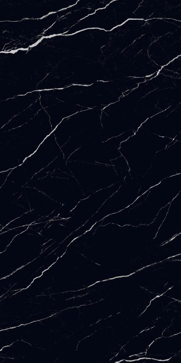 Marquina Nero design appearances for sintered stone slab surfaces