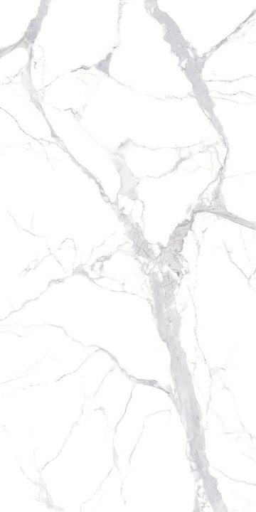Statuario Silver design appearances for sintered stone slab surfaces