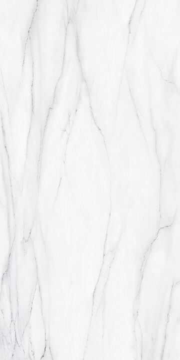 Calacatta Lincoln design appearances for sintered stone slab surfaces