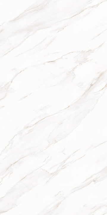 Cortina Bianco design appearances for sintered stone slab surfaces
